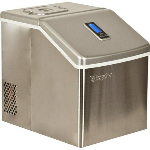 Edgestar Stainless Steel Portable Clear Ice Maker