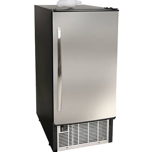 under cabinet ice maker edgestar ib450ss undercounter maker built in 45 lb 27472