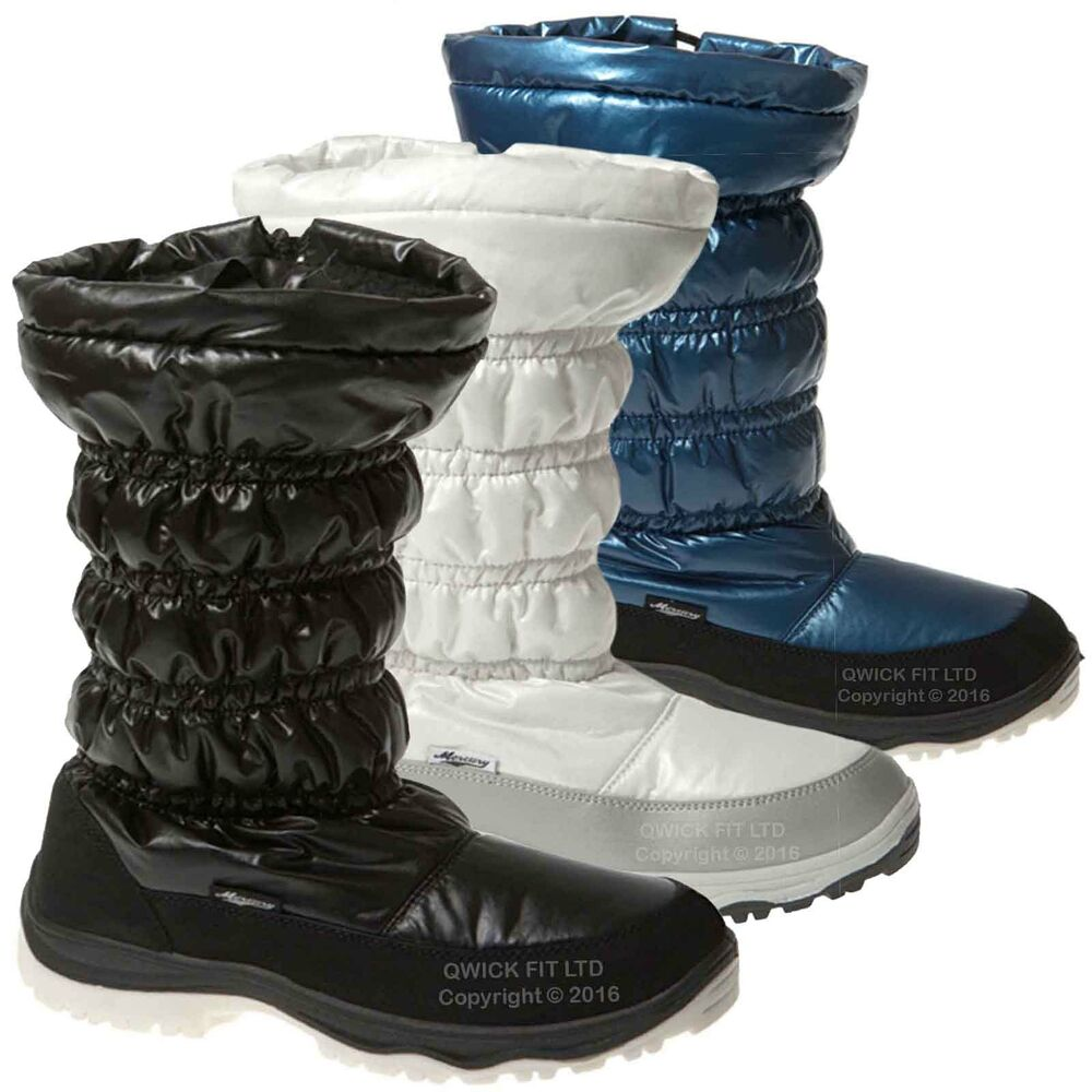 LADIES WATER RESISTANT SNOW THINSULATED BOOTS MUCKER