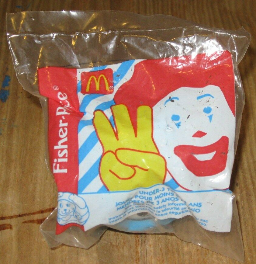 1996 Fisher Price McDonalds Happy Meal Under 3 Toy