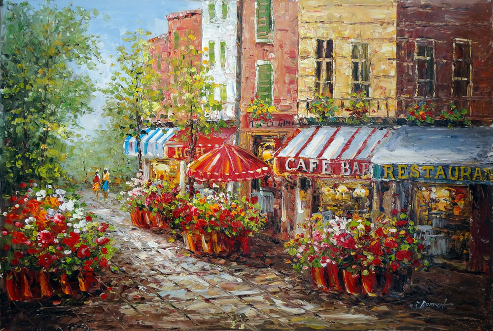 Famous Bistro Paintings