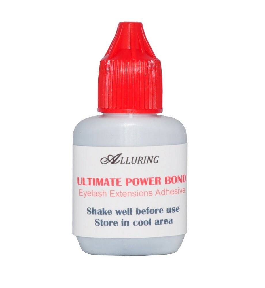 new alluring ultimate power bond glue eyelash extensions adhesive dries instant ebay. Black Bedroom Furniture Sets. Home Design Ideas
