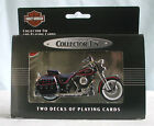 Harley Davidson Collectible Tin & Playing Cards 1988