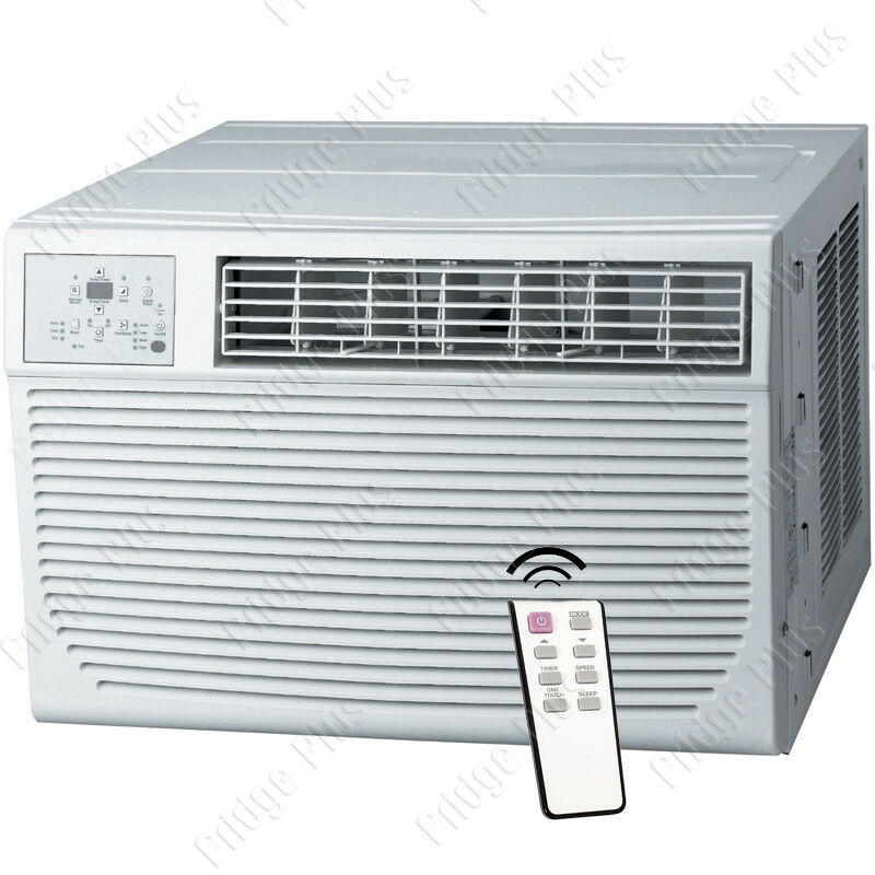 8000 btu window ac unit w 3500 btu heater 115v standard for 12 inch high window air conditioner