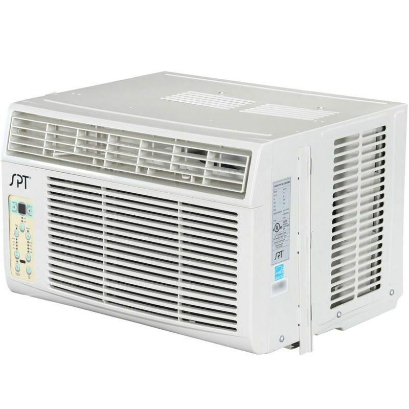 8000 btu window air conditioner a c 350 sq ft small ac for Window unit ac