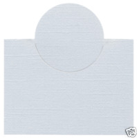 Lifestyle Crafts QuicKutz Cutting Die PLACE CARD Entertaining    CC-SHAPE -1-038