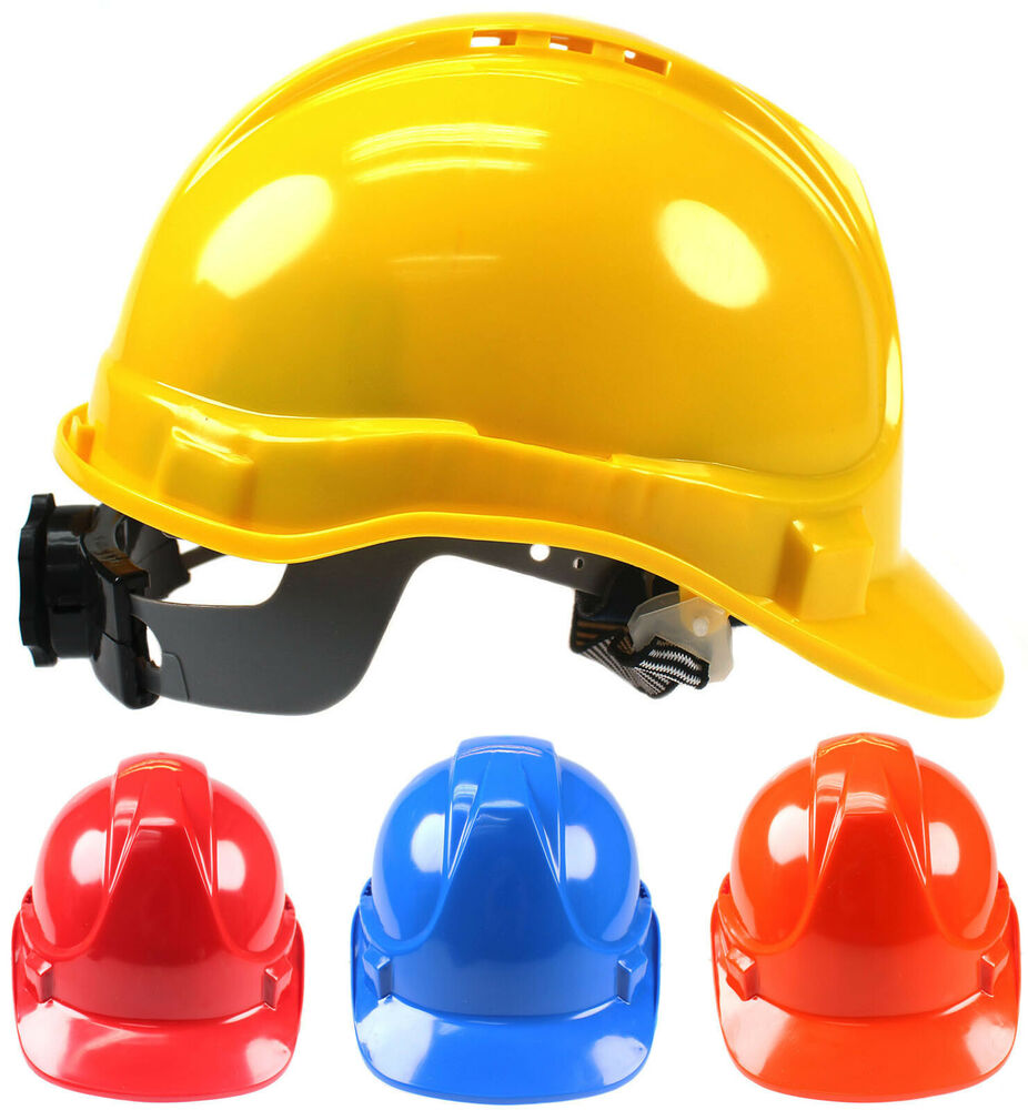 Mens Hard Hat Safety Ladies Construction Helmet Cap Vented