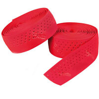 Deda Padded PERFORATED Handle Bar Tape RED