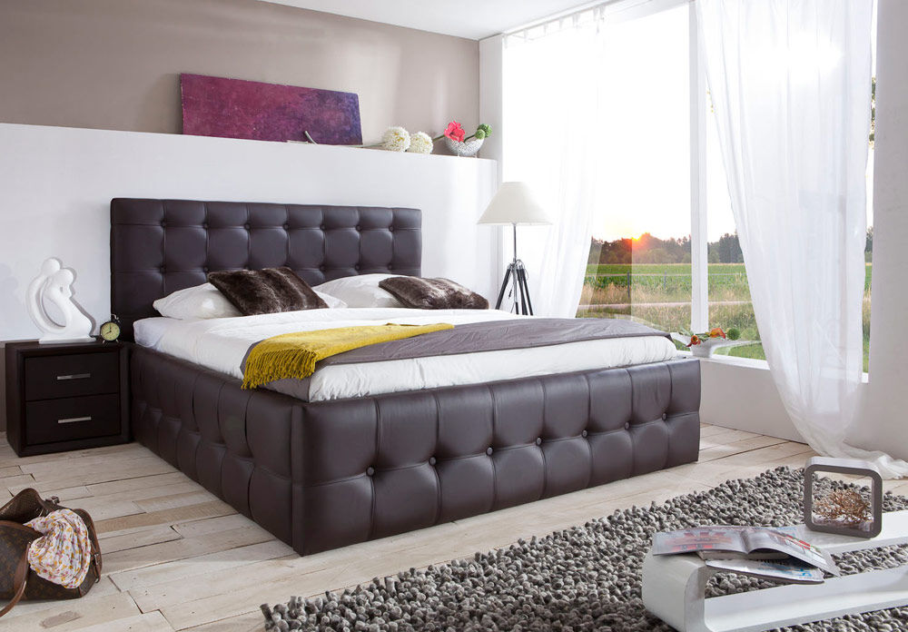 polsterbett mit bettkasten 140x200 die neueste. Black Bedroom Furniture Sets. Home Design Ideas
