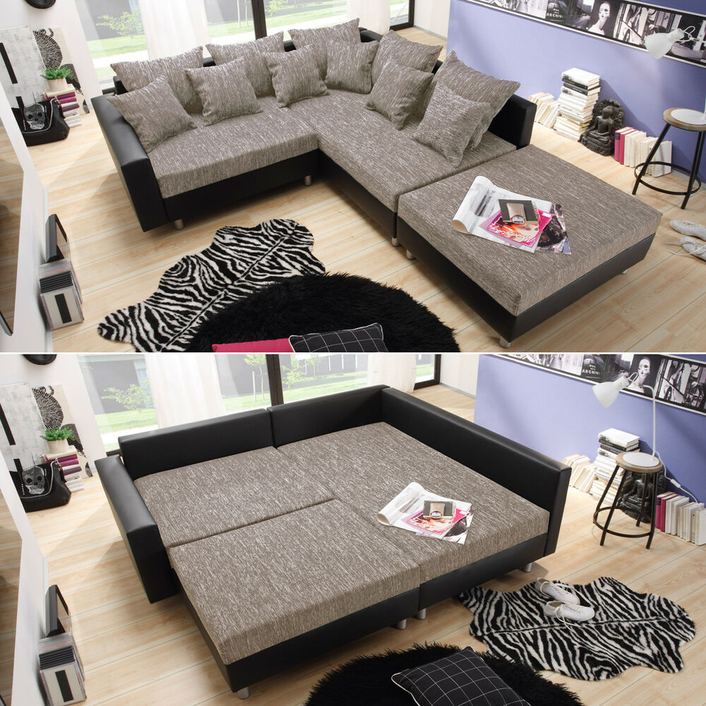 ecksofa claudia wohnlandschaft ottomane rechts sofa mit. Black Bedroom Furniture Sets. Home Design Ideas