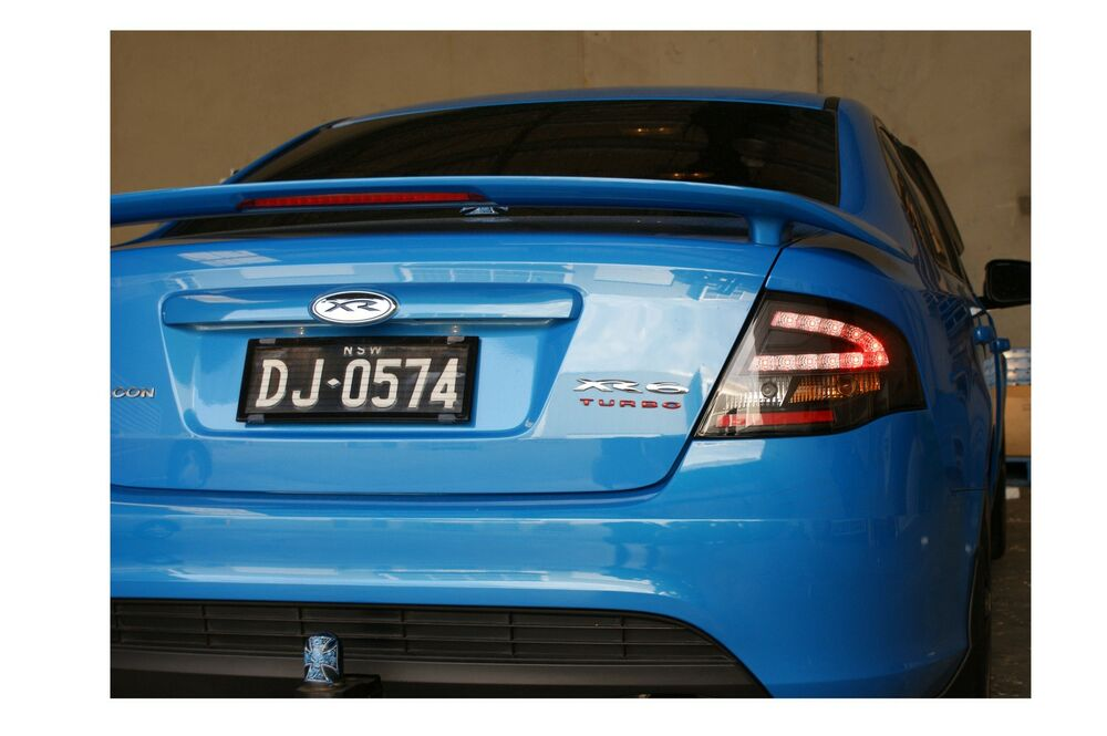 Ford Falcon Fg Xr6 Turbo Black Led Tail Lights Special