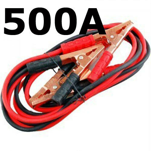 500a Booster Cables Car Battery Jump Start Cable