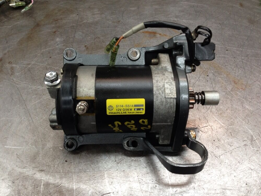 1998 dt 200 hp suzuki v6 outboard ignition engine starter for Boat motors for sale mn