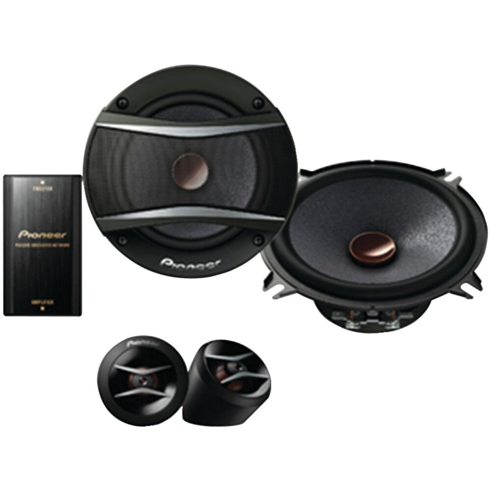 new pioneer car audio component speaker set stereo. Black Bedroom Furniture Sets. Home Design Ideas