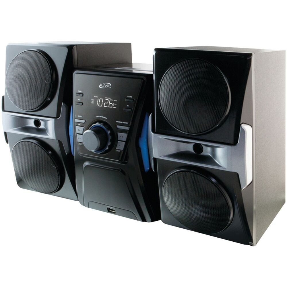 NEW Bluetooth Compact CD Shelf Stereo Speaker Music System