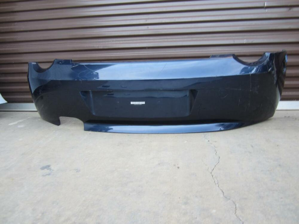 03 04 05 Bmw Z4 E85 Rear Bumper Cover W O M Pkg Roadster