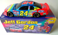 New Jeff Gordon 1998 Dupont Winston No Bull 1/24 Scale Diecast Bank Car Action