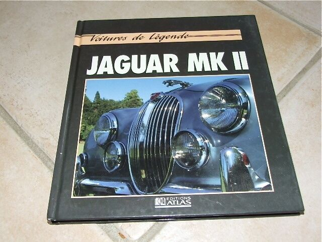 livre voitures de l gende jaguar mk ii ebay. Black Bedroom Furniture Sets. Home Design Ideas