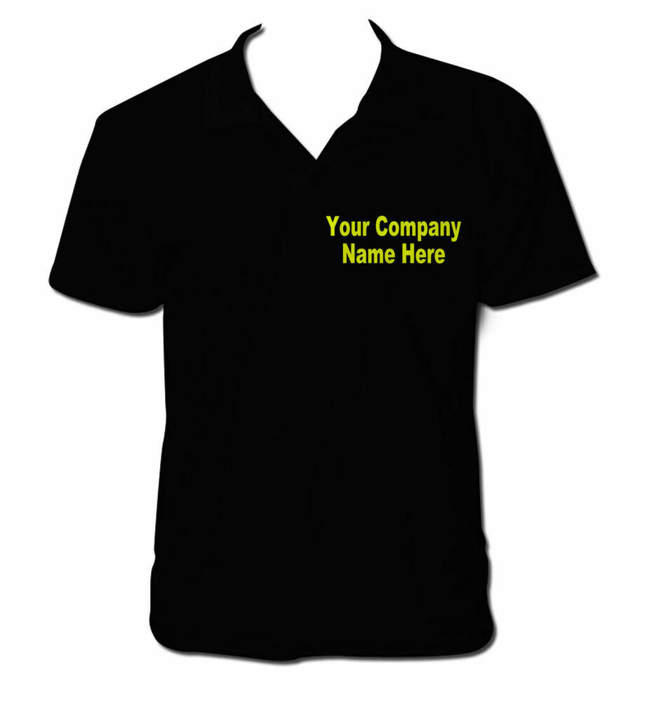 Custom Printed Polo Shirt Personalised Polo Shirt Work