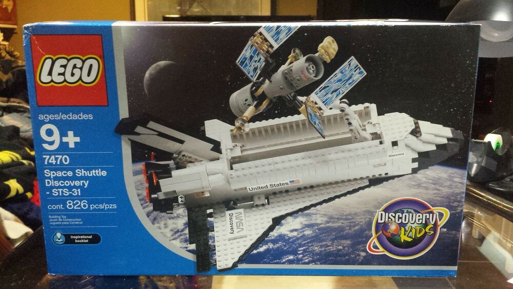 lego 7470 space shuttle discovery new in sealed box very. Black Bedroom Furniture Sets. Home Design Ideas