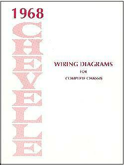 1968 68 CHEVELLE /SS WIRING DIAGRAM MANUAL | eBay