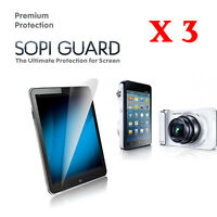 3 X SopiGuard HD Ultra Clear Screen Protector Samsung Galaxy Camera