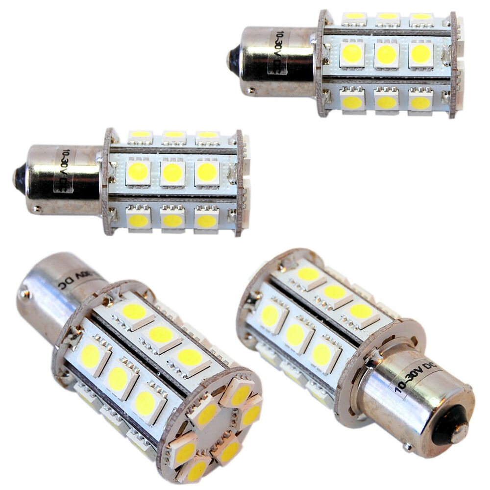 Porch Light Bulb Replacement: Four BA15s 24 LEDs Bulb Replacement For 1141 Casita RV