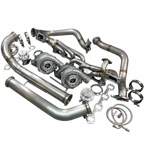 Cxracing Twin Turbo Kit For 79 93 Ford Foxbody Mustang 5