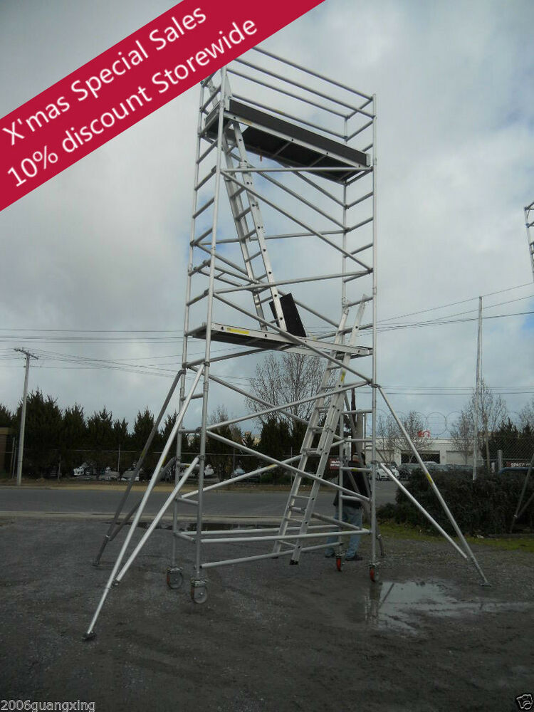 Aluminum Scaffold Tower : Aluminium mobile tower scaffold n scaffolding platform
