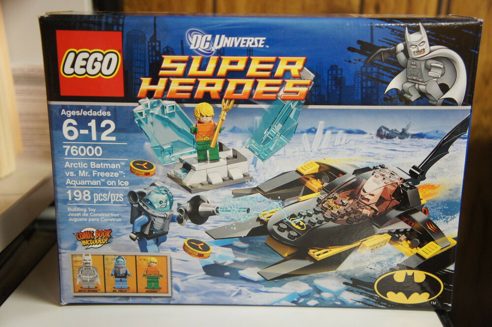 LEGO 76000 DC Universe Super Heroes ARTIC BATMAN Vs MR FREEZE ...
