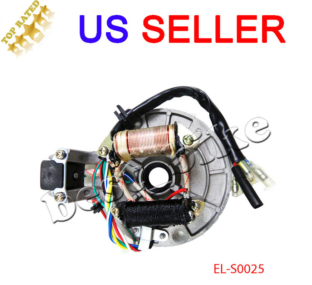 50cc atv wiring ignition magneto stator plate 70cc 90cc 110cc 125cc dirt bike    atv     magneto stator plate 70cc 90cc 110cc 125cc dirt bike    atv