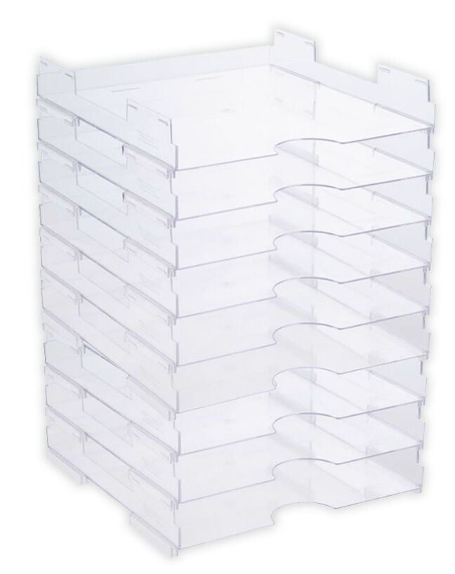 display dynamics perfect paper stackable open paper trays With stackable letter trays ikea