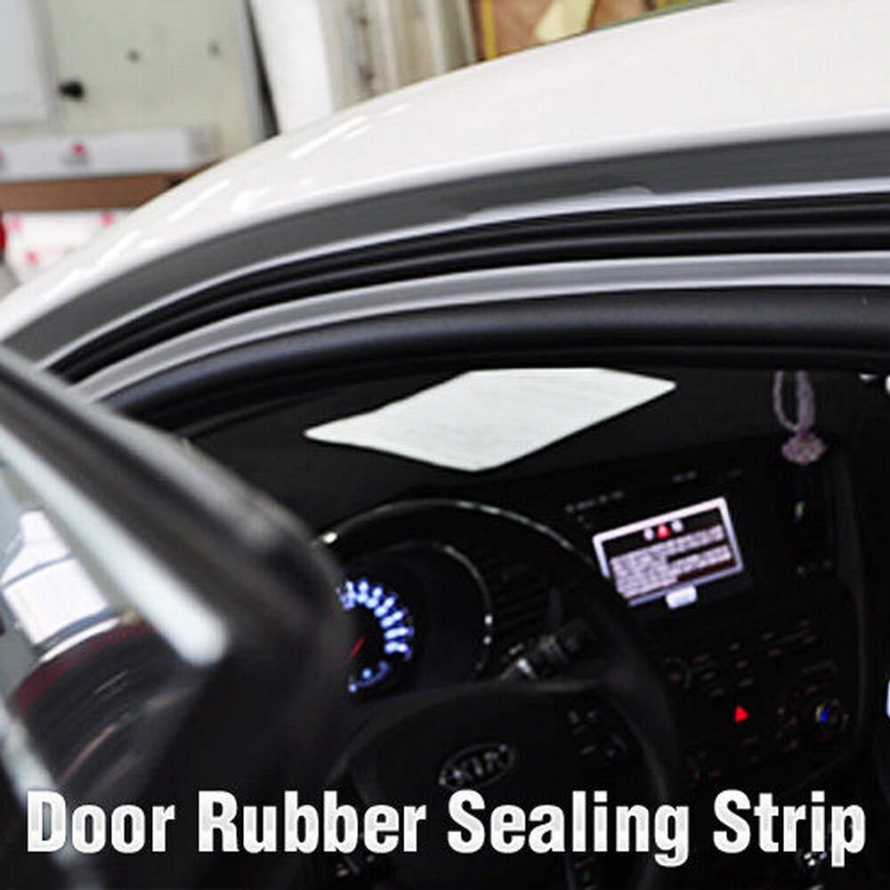Car door auto noise rubber wind seal strip m b type for