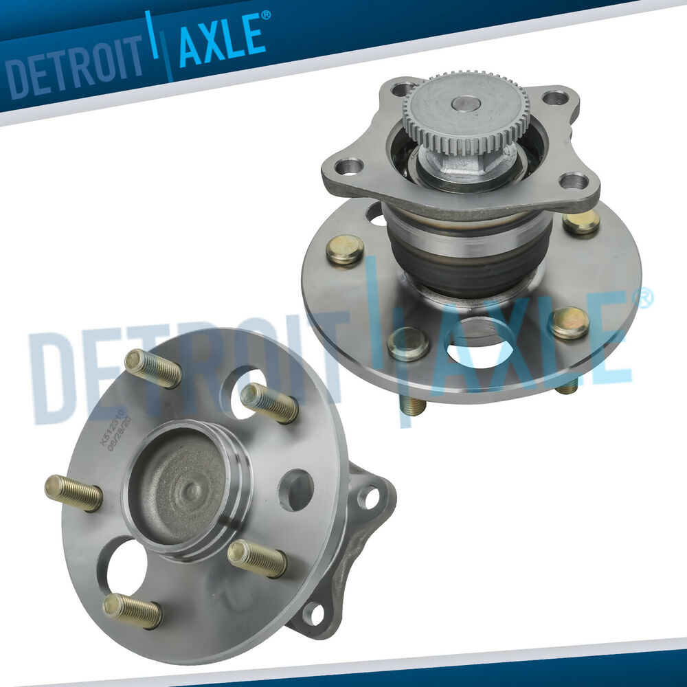 2019 Toyota Camry Hub Bearing Assembly Rear Axle Left: Rear Wheel Bearing & Hub PAIR ABS For Toyota Camry Avalon