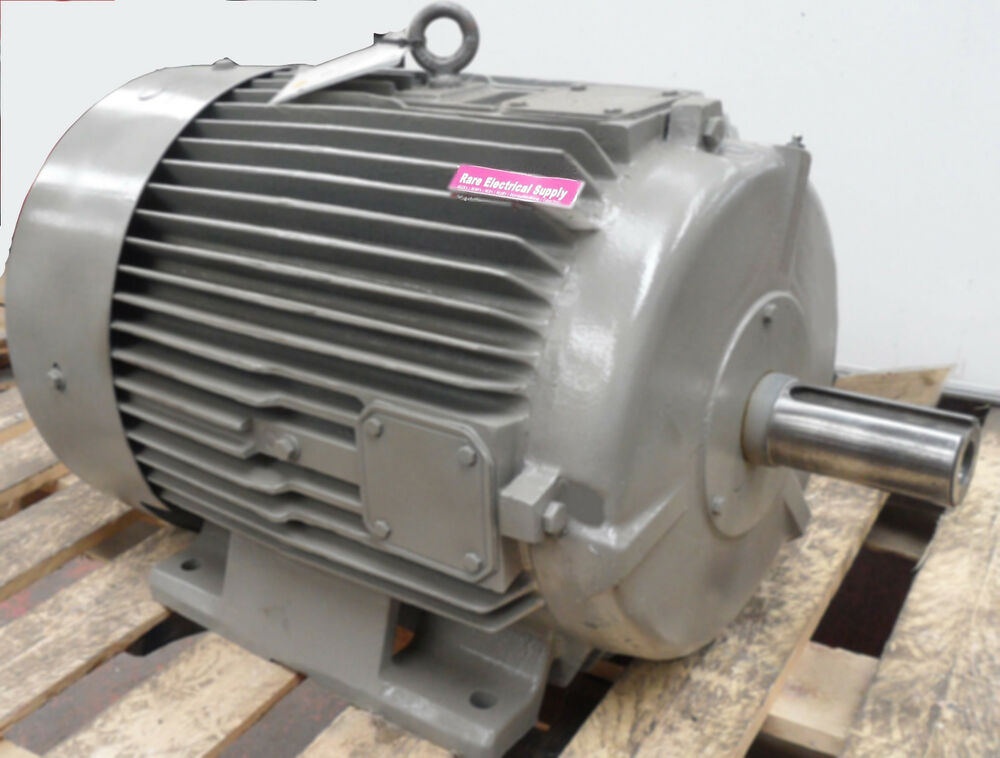 Brook crompton 2 speed 30kw 6kw electric motor b3 foot for Two speed electric motor