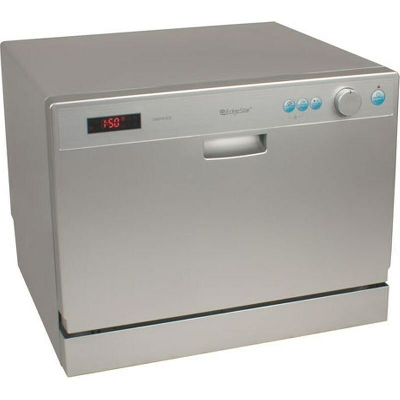 portable compact countertop dishwasher silver energy star
