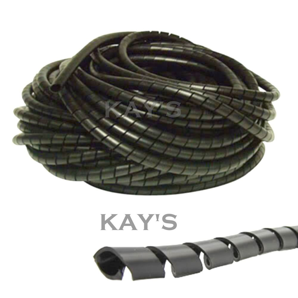 SPIRAL CABLE WRAP TIDY HIDE BANDING LOOM