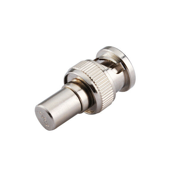 Coax Cable Terminations : Ohm bnc male plug resistor rf coaxial termination