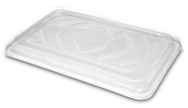 Handi Foil Clear Plastic Low Dome Lid For Full Size Steam