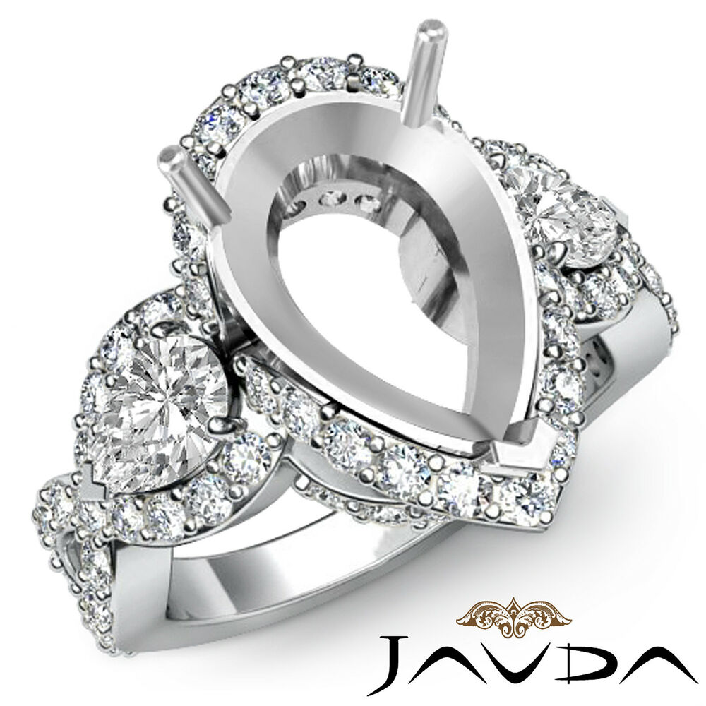 White Gold Diamond Ring Settings