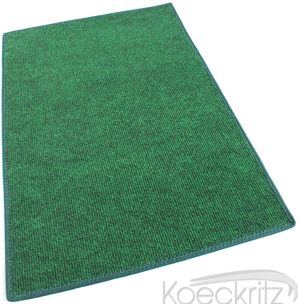 Green indoor outdoor area rug carpet non skid marine for Indoor out door carpet