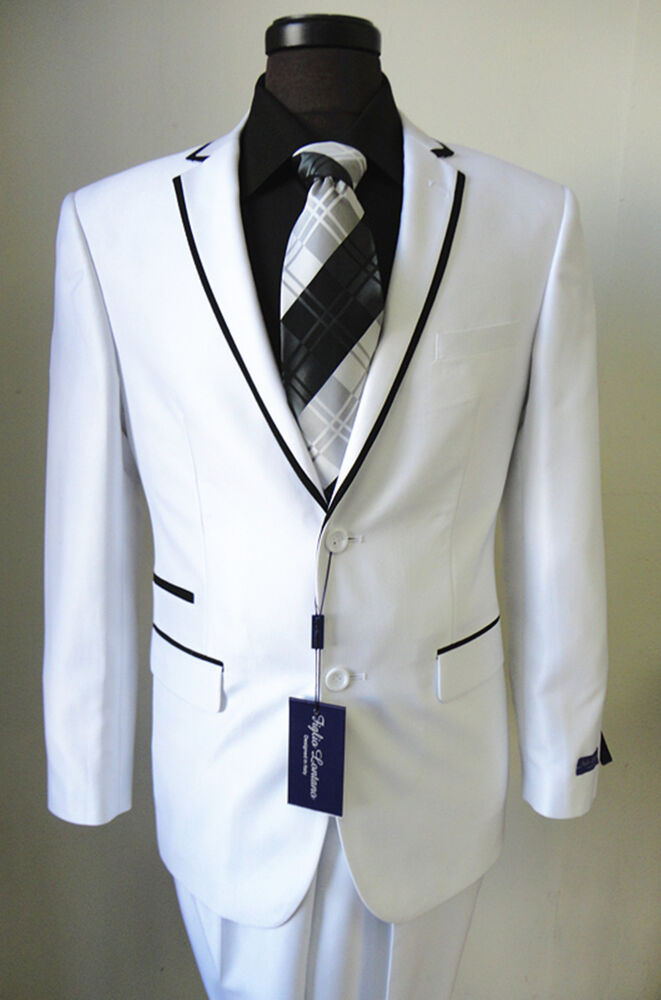 White Slim fit suit. In every man's life, one always wishes and loves to wear the white suit. These kinds of alabaster suits should be worn with proper accessories otherwise it would turn out to be a total mess.