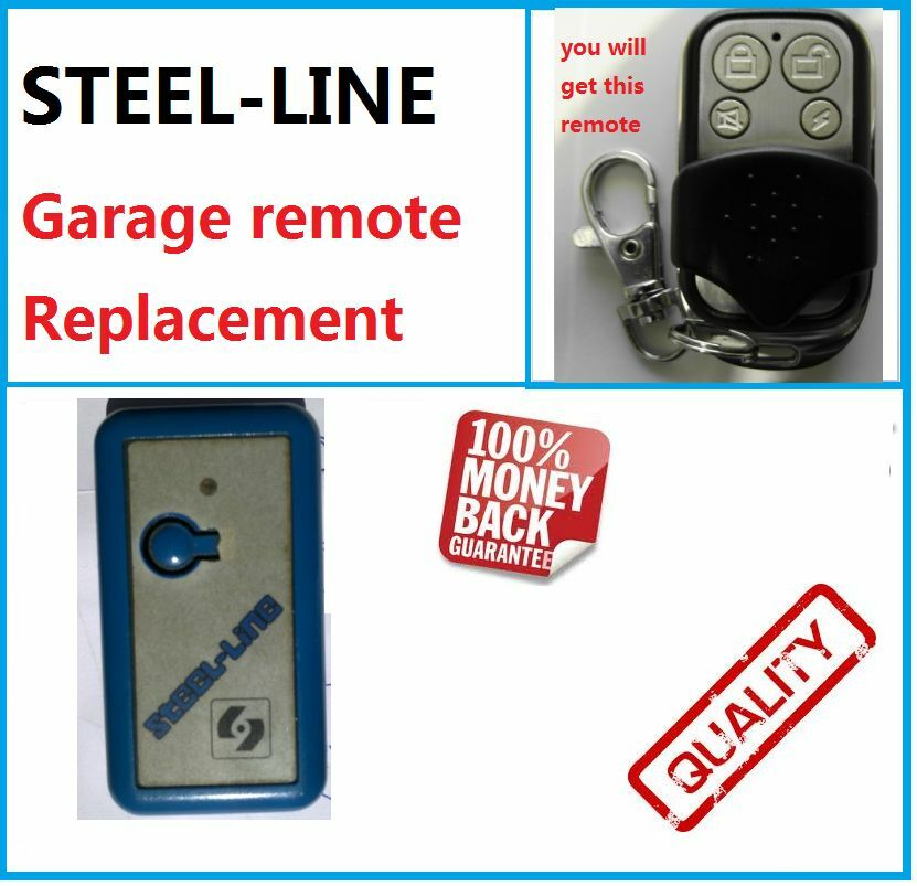 Steel Line Garage Door Remote Control Opener Steel Line