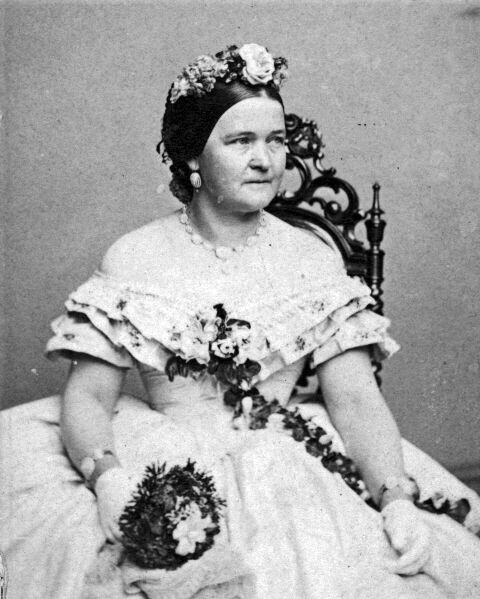 New 8x10 Photo First Lady Mary Todd Lincoln Portrait