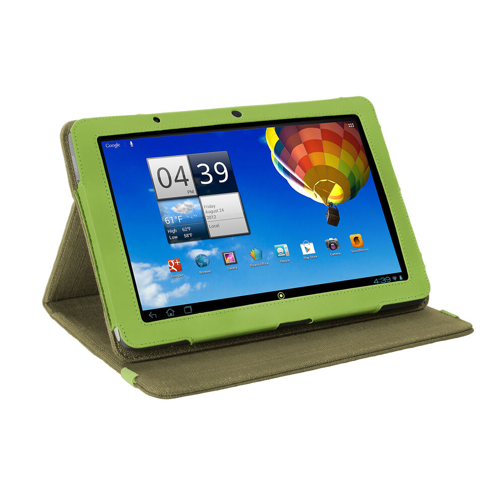 acer iconia tab a510 a700 10 1 tablet khaki green natural hemp cover case ebay. Black Bedroom Furniture Sets. Home Design Ideas
