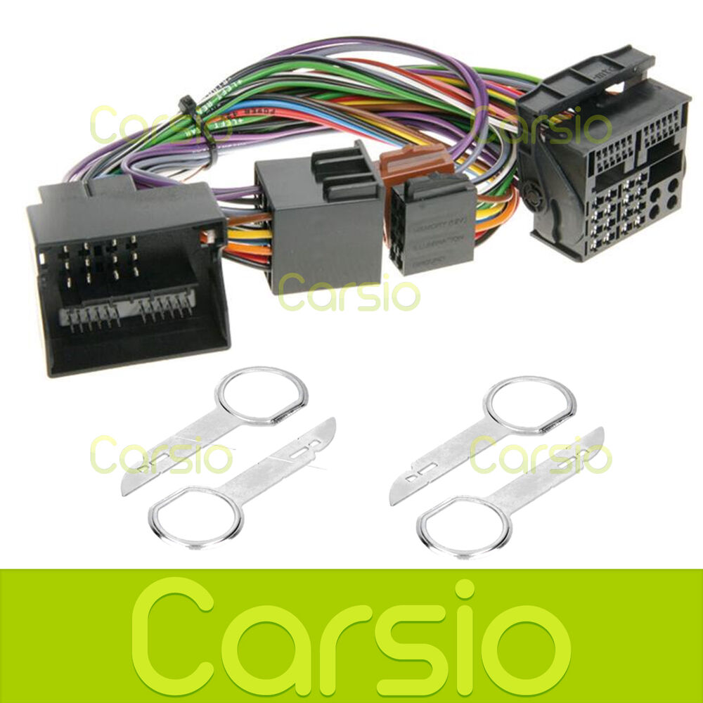 Wiring Harness Adapter Ford Focus : Ford focus c max hands free parrot bluetooth iso adaptor