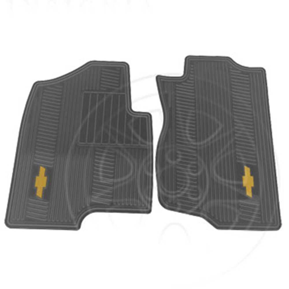 19166591 Gm Premium Front All Weather Titanium Gray Floor