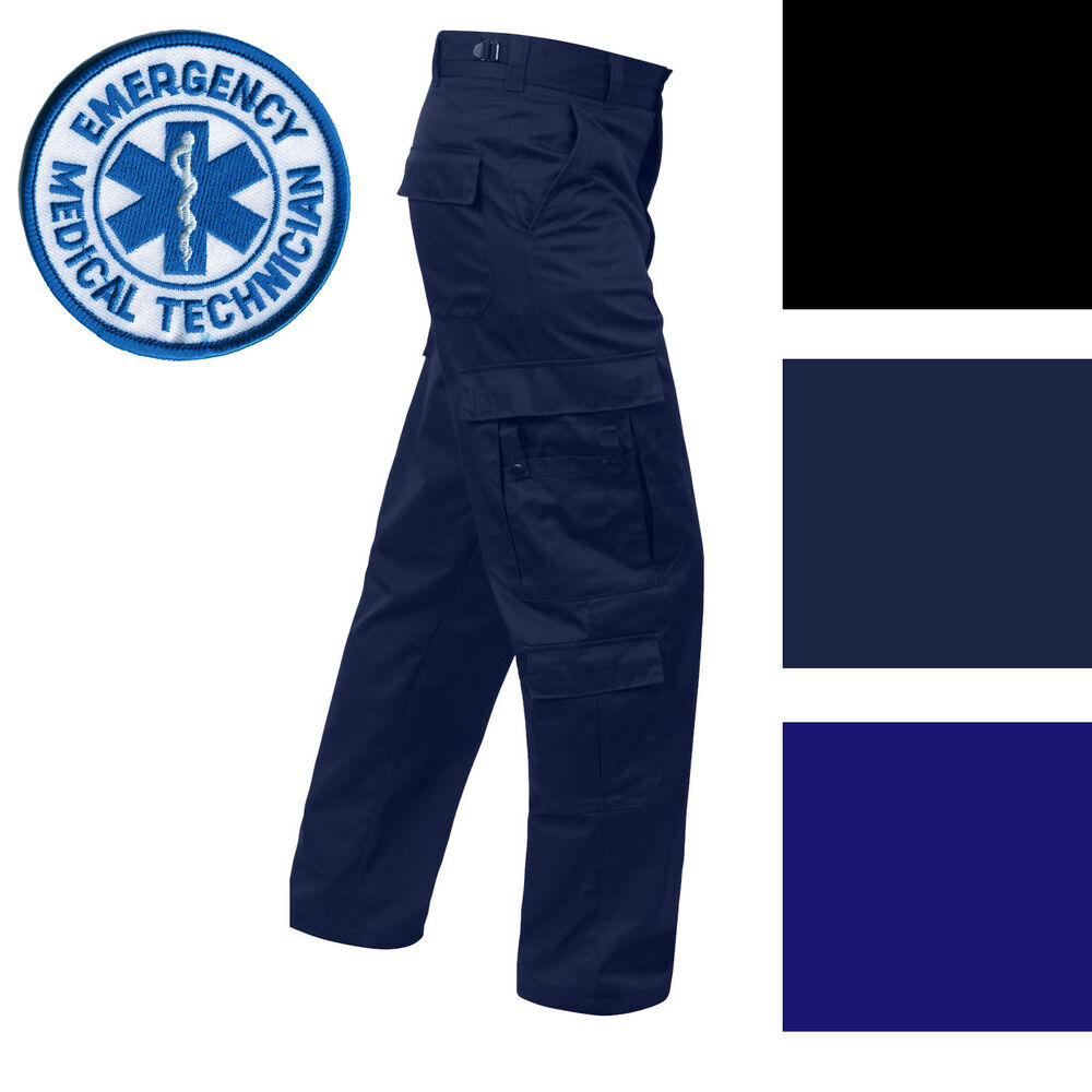 Details about Tactical Uniform Cargo Pants 9 Pocket EMT EMS Paramedic Medic  Work Duty Trousers bcd5975c9f3