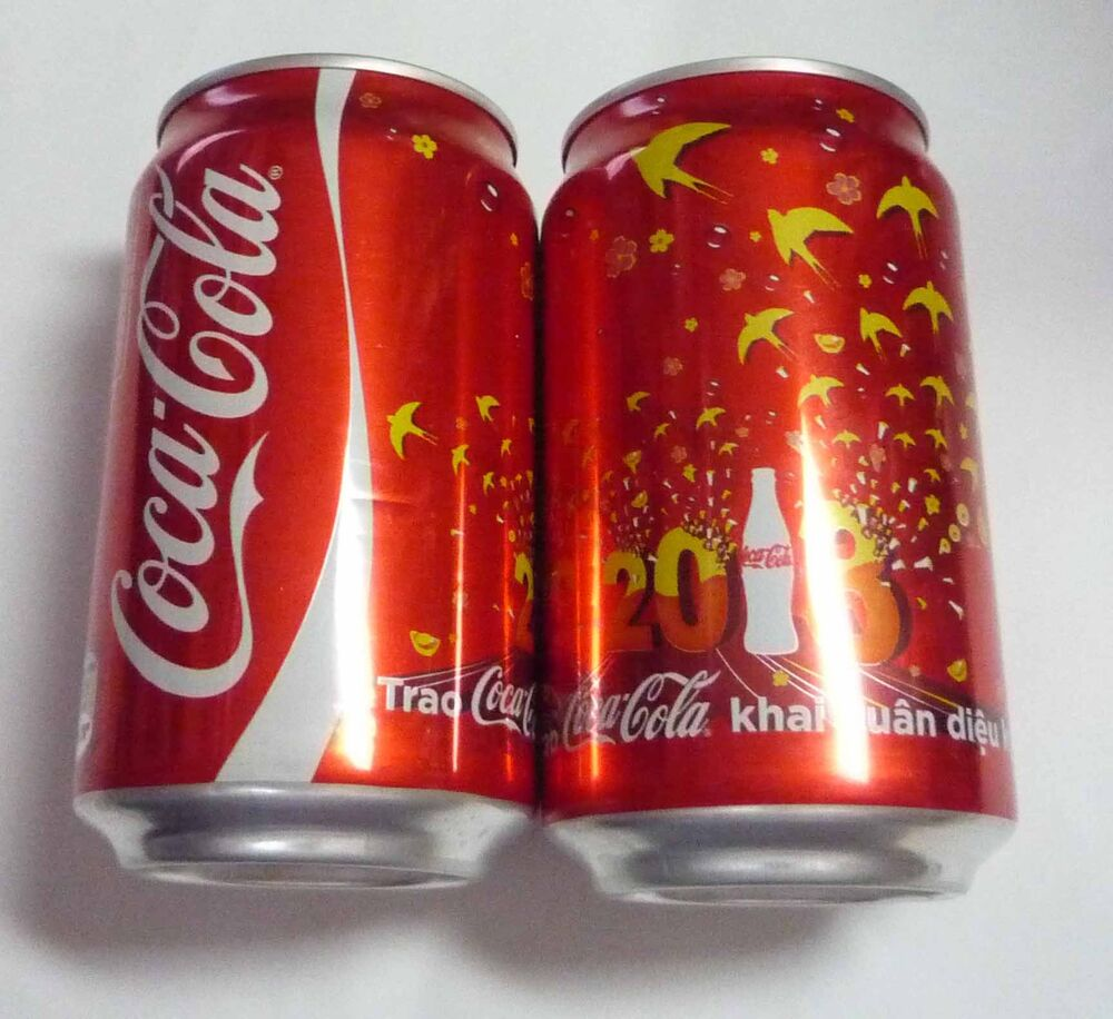 coca cola can vietnam collector chinese new year 2013 asia collect coke ebay. Black Bedroom Furniture Sets. Home Design Ideas