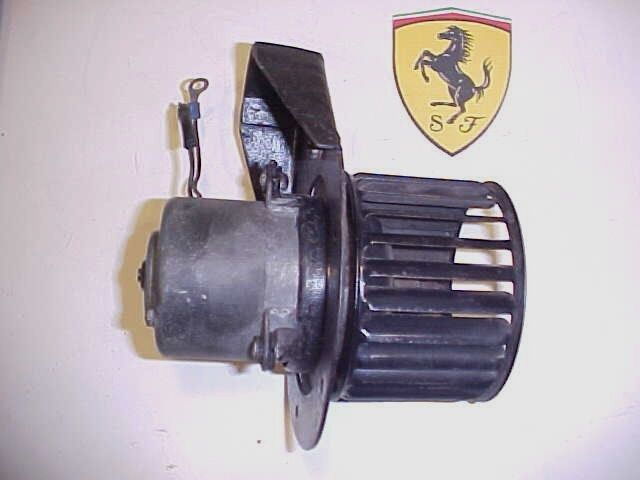 Ferrari 330 Heater Blower Motor Squirrel Cage Fan Mounting